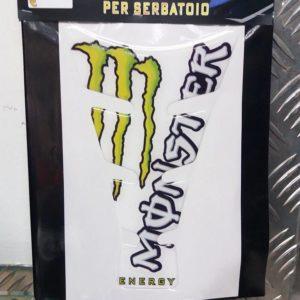 Adesivo paragraffi monster energy